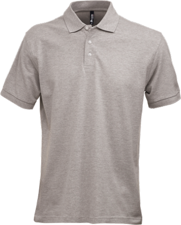 Fristads Acode Heavy Pique Polo Shirt 1724 PIQ (Grey Melange)